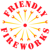 Friendly Fireworks Logo